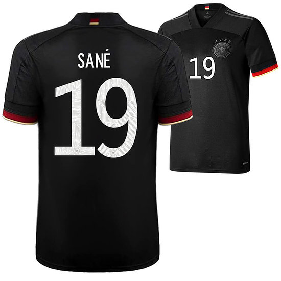 Adidas Deutschland EM 2021 DFB Trikot Auswärts SANÈ Kinder