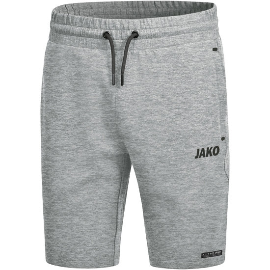 Jako Joggingshorts Premium Basics hellgrau