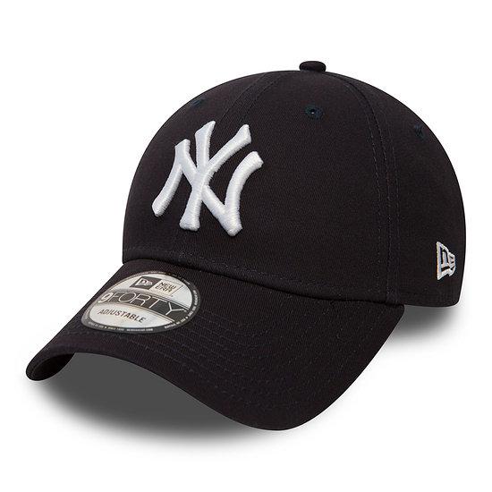 New Era New York Yankees Cap League Essential 9FORTY navy/weiß