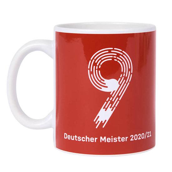 FC Bayern München Tasse Meister 2021