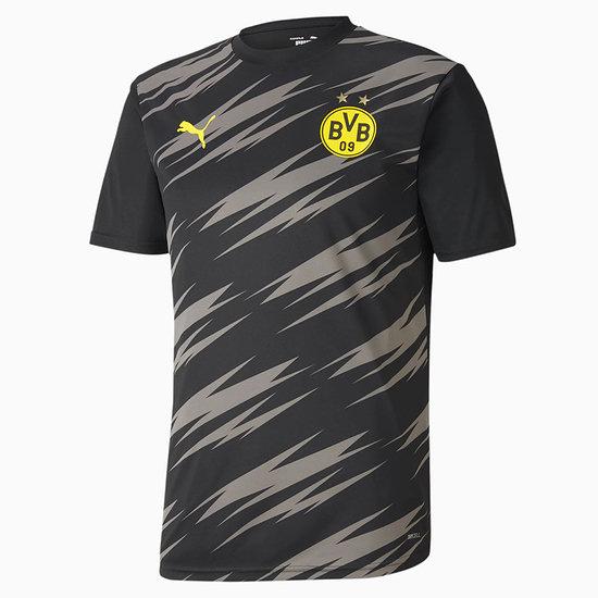 Puma Borussia Dortmund Aufwärmtrikot 2020/2021 schwarz