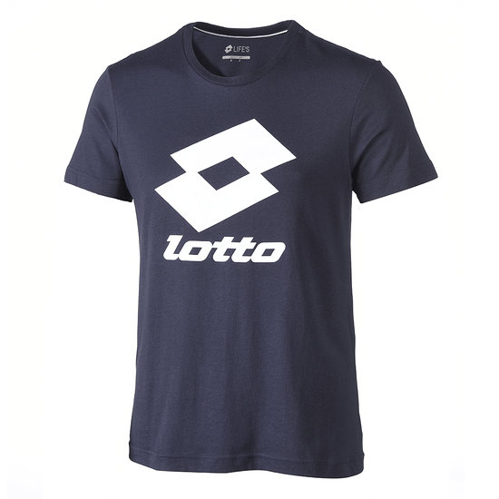 Lotto T-Shirt Smart Logo navy