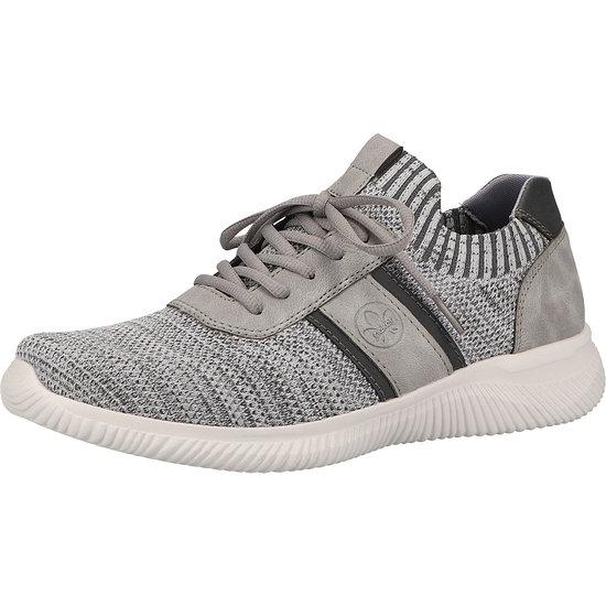 Rieker Sneaker Lederimitat breeze/grey