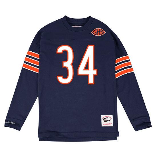 Mitchell & Ness Chicago Bears Longsleeve N&N Walter Payton blau