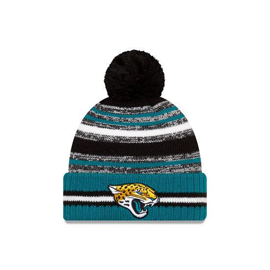 New Era Jacksonville Jaguars Beanie Sport Knit Cold Weather grün