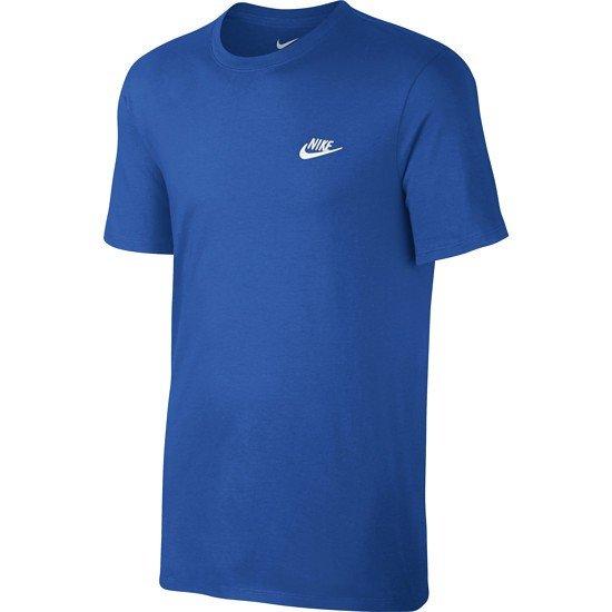 Nike T-Shirt Club Futura Blau