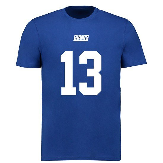 Majestic Athletic New York Giants T-Shirt N&N Beckham Jr No 13 royal