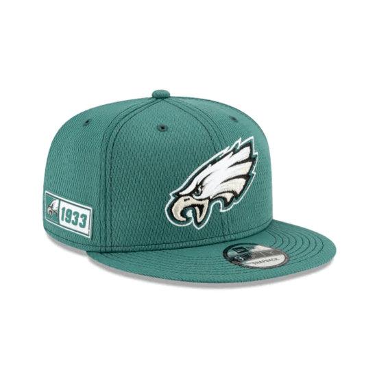 New Era Philadelphia Eagles Cap On Field 9FIFTY grün