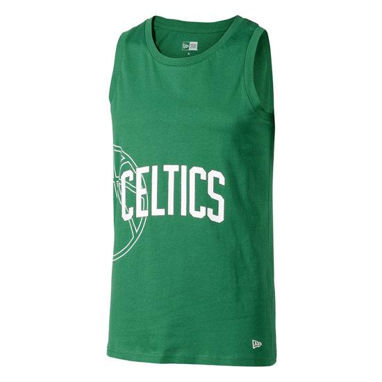 New Era Boston Celtics Tanktop Graphic Basketball grün