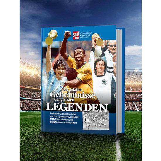 Sport BILD Buch Die letzten Geheimnisse der größten Legenden