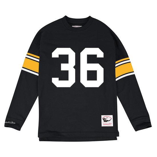 Mitchell & Ness Pittsburgh Steelers Longlseeve N&N Jerome Bettis schwarz