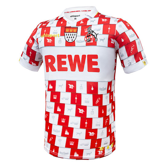 uhlsport 1. FC Köln Trikot 2020/2021 Fastelovend Kinder