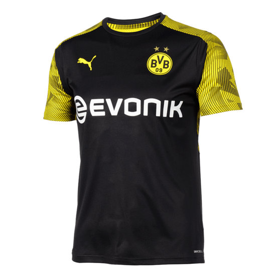 Puma Borussia Dortmund Trainingsshirt Fresh Schwarz