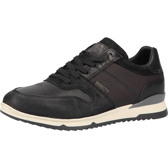 Bullboxer Sneaker Leder/Textil black