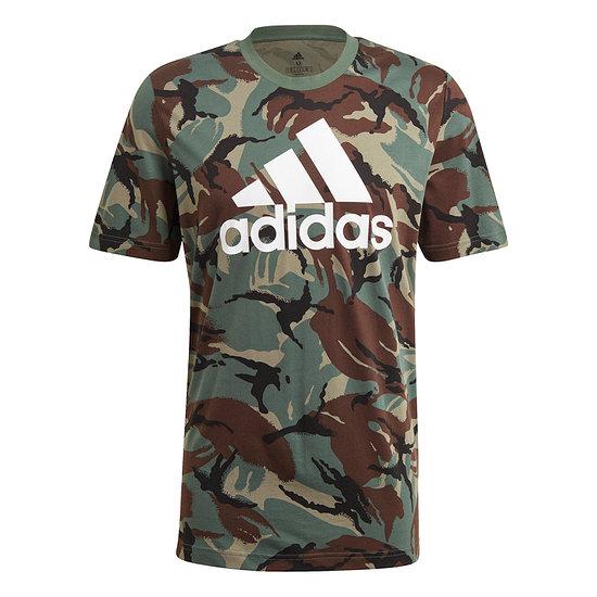 Adidas T-Shirt CAMO AOP Braun