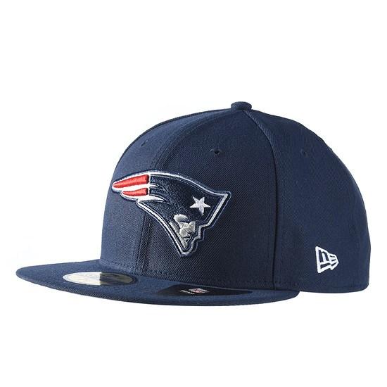 New Era New England Patriots Cap Fitted blau