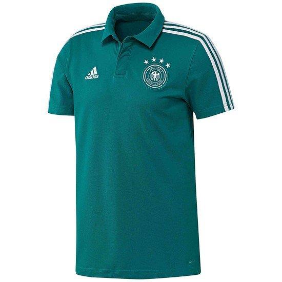 Adidas Deutschland DFB Poloshirt WM 2018 Grün