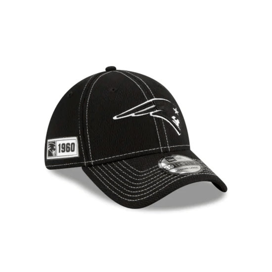 New Era New England Patriots Cap Sideline RD 39THIRTY schwarz