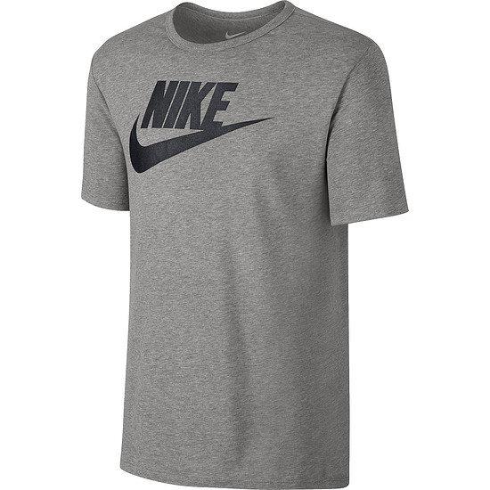 Nike T-Shirt Futura Icon Dunkelgrau/Schwarz