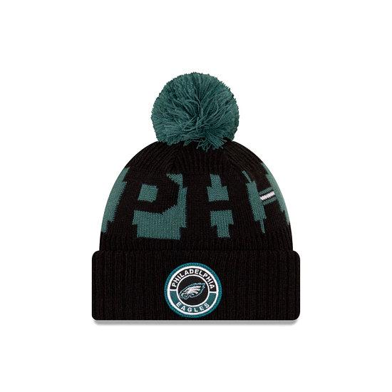 New Era Philadelphia Eagles Beanie On Field Sport Knit grün