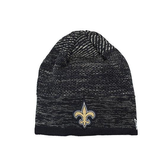 New Era New Orleans Saints Beanie On Field Tech Knit schwarz