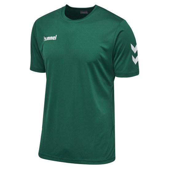 hummel T-Shirt Core Poly grün