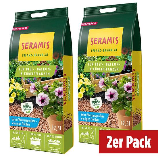 Seramis Pflanzgranulat Beet- und Kübelpflanzen im Doppelpack