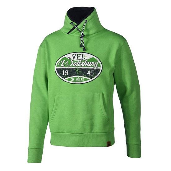 VfL Wolfsburg Sweatshirt Stempel grün