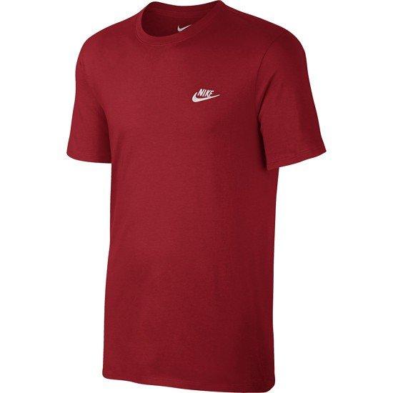Nike T-Shirt Club Futura Rot