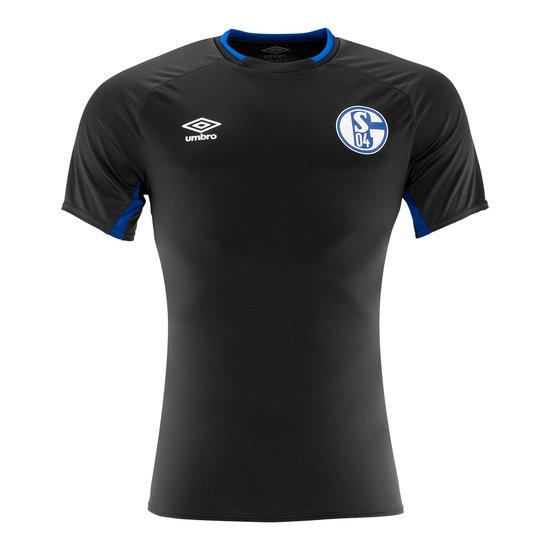 Umbro FC Schalke 04 Trainingsshirt Fit Schwarz