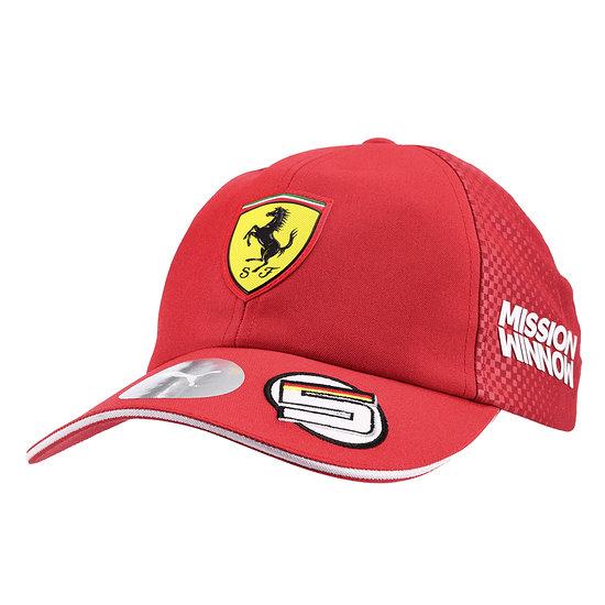 Ferrari Cap Vettel 2019 rot