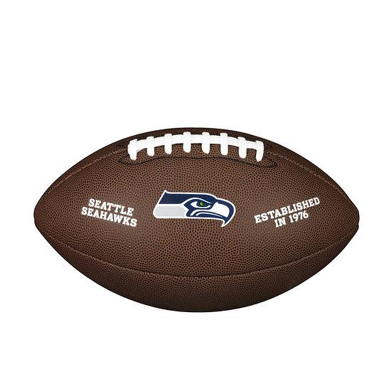 Wilson Seattle Seahawks Football Team Logo braun