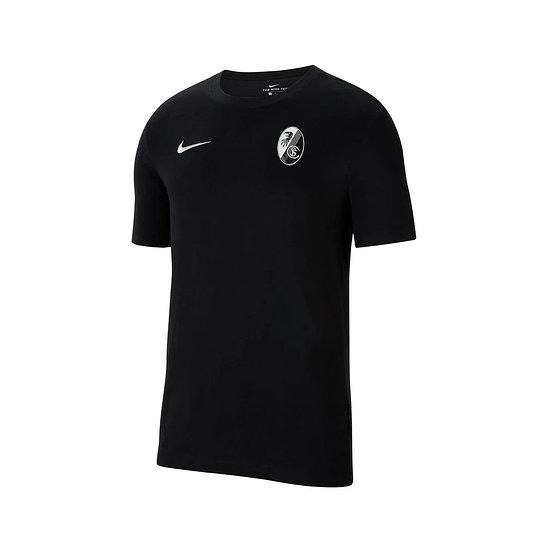 Nike SC Freiburg Freizeitshirt 2021/2022 Schwarz