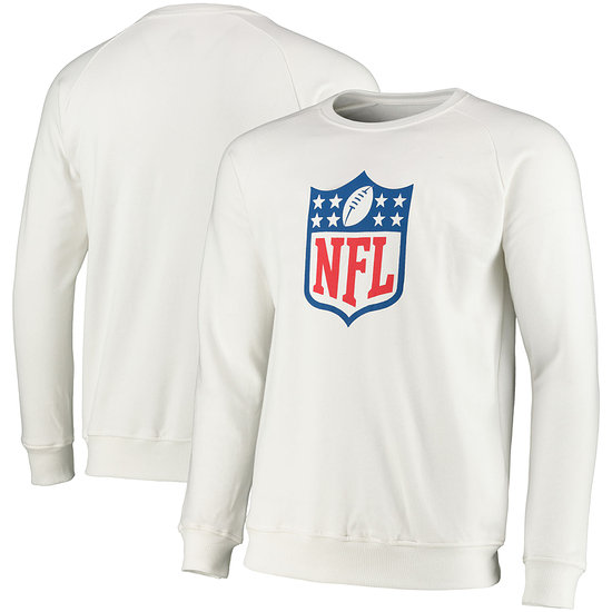 Fanatics NFL Shield Sweatshirt Scoops weiß