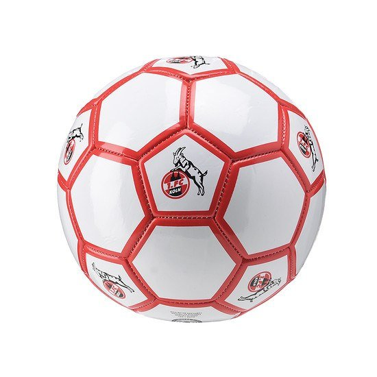 uhlsport 1. FC Köln Ball weiß/rot