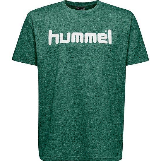 hummel T-Shirt Go Cotton Logo grün