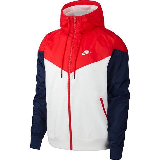 Nike Kapuzenjacke Windrunner Weiß/Rot/Blau