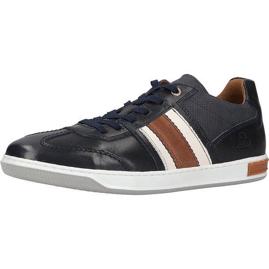 Bullboxer Sneaker Leder/Textil blue