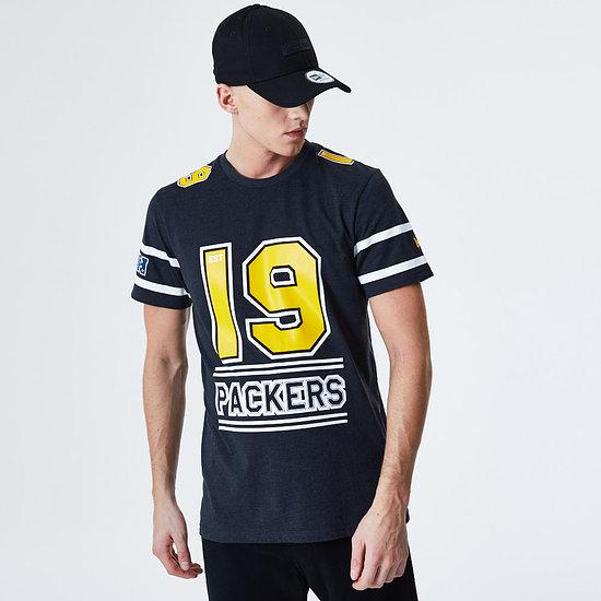 New Era Green Bay Packers T-Shirt Team Established grau