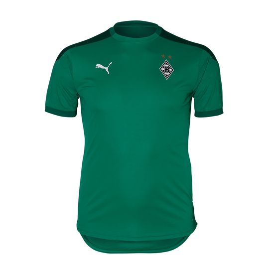 Puma Borussia Mönchengladbach Trainingsshirt 2020/2021 Kinder Grün