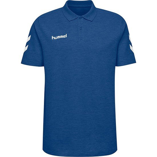 hummel Poloshirt Go Cotton blau