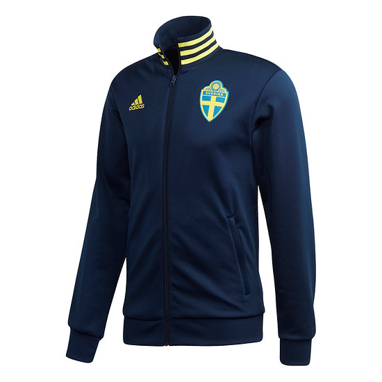 Adidas Schweden Track Jacket EM 2021 Blau