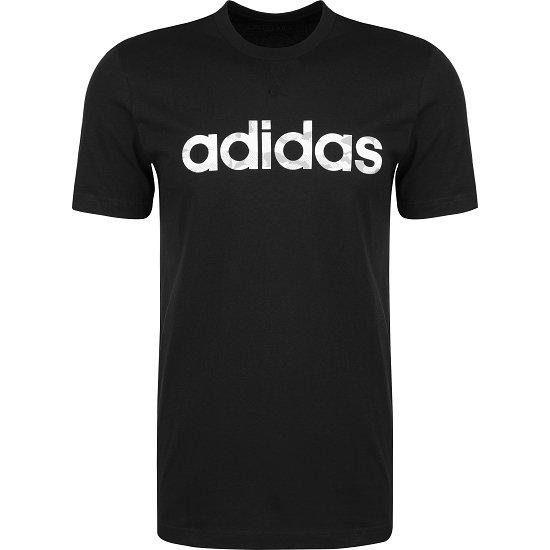 Adidas T-Shirt CAMO LIN Schwarz