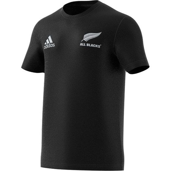 Adidas Neuseeland ALL BLACKS T-Shirt Team WM 2021 Schwarz