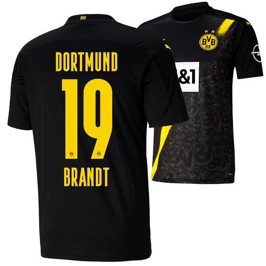 Puma Borussia Dortmund Auswärts Trikot BRANDT 2020/2021 Kinder
