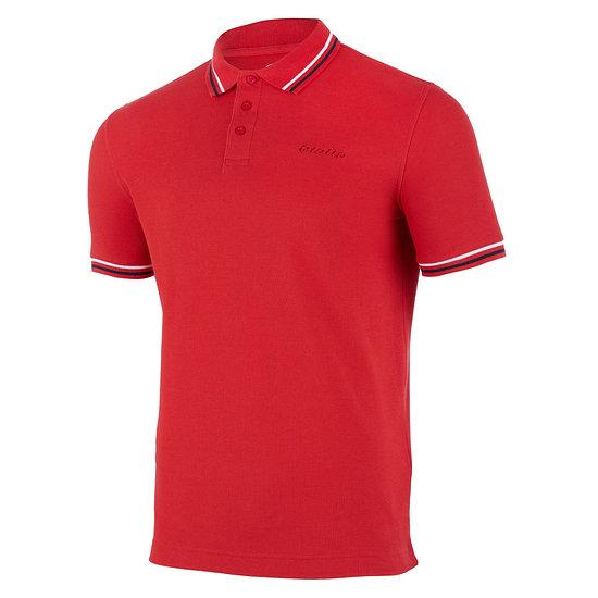 Lotto Poloshirt Classica racing red/navy