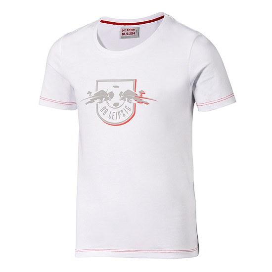 RB Leipzig T-Shirt Red Shadow Kinder weiß