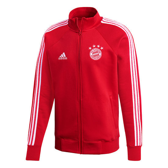 Adidas FC Bayern München Trainingsjacke Retro 2020/2021 Rot