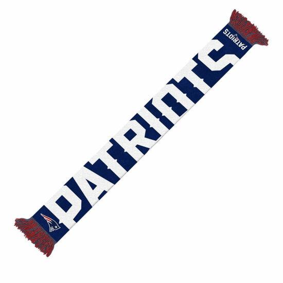 Forever Collectibles New England Patriots Schal Wordmark blau