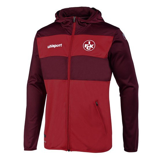 uhlsport 1. FC Kaiserslautern Jacke Anthem Liga 2.0 rot